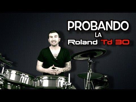 Clases de batería - Probando la Roland Td30