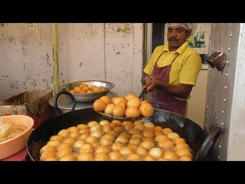 Garma Garam Mysore Bajji | Who Want to Eat | Street Food Hyderabad