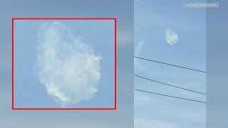 Incredible Cloud UFO caught on tape in North Philadelphia | July 5th, 2015
