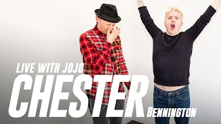 Chester Bennington Live With JoJo