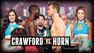 Terence Crawford vs Jeff Horn - A CLOSER LOOK (2018)