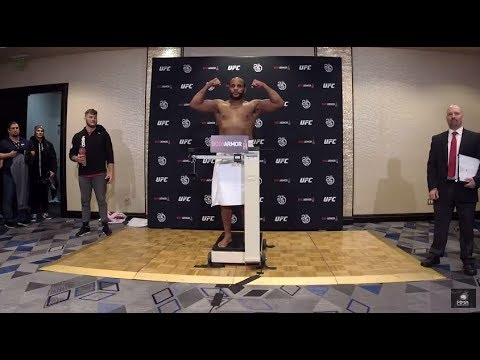 The official UFC 220 Stipe Miocic vs. Francis Ngannou weigh ins.