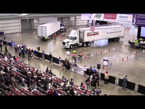 2014 National Truck Driving Championships Highlights: Day 2 of Skills Course