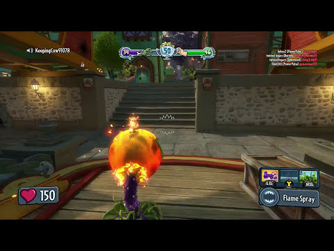 Plants Vs. Zombies - Purchasing Spectacular Character Pack ($40,000) Garden Warfare