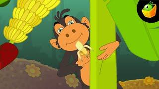Bander Naach Dhikhata Hai - Hindi Animated/Cartoon Nursery Rhymes For Kids