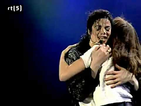 Michael Jackson - You Are Not Alone (live)
