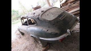 Restoration of a 1971 Jaguar E Type (part 1): bodywork