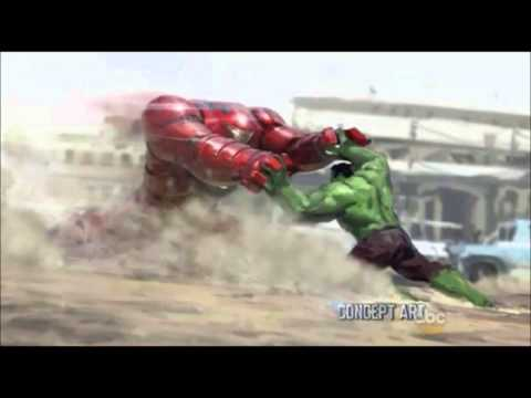 Avengers Age of Ultron Iron Man Hulkbuster Suit Revealed