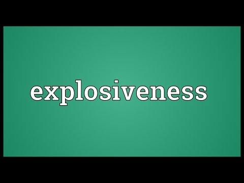 Header of explosiveness