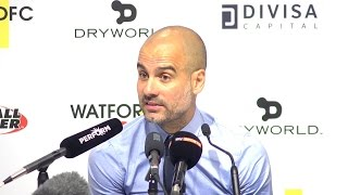 Watford 0-5 Manchester City - Pep Guardiola Full Post Match Press Conference 😡