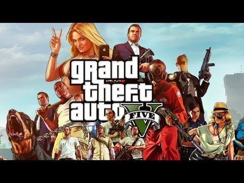 GTA 5 (GTA V) [HD+] #001 - Welcome to Los Santos ★ Let's Play GTA 5 (GTA V)