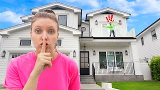 GIANT GAME OF HIDE AND SEEK in SHARER FAMILY VACATION MANSION!! (Last to be found wins $10,000)