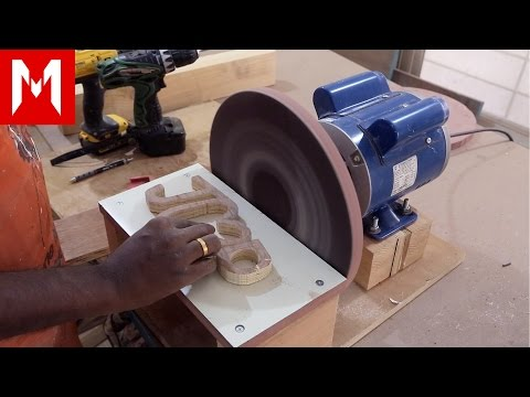 12 inch Disc Sander // How I made it