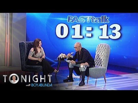 TWBA: Fast talk with Angel Locsin