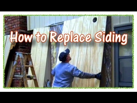 How To Replace Plywood Siding Youtube