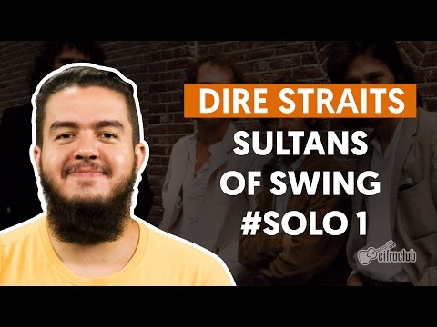 Sultans Of Swing (Solo 1) - Dire Straits (How To Play - Guitar Solo Lesson)