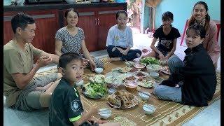 Qua thăm nhà Chị Gái - Hương vị đồng quê - Bến Tre - Miền Tây
