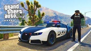 GTA 5 PC Mods - PLAY AS A COP MOD #6! GTA 5 Police BUGATTI LSPDFR Mod Gameplay! (GTA 5 Mod Gameplay)