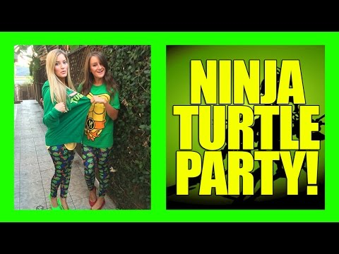 Ninja Turtle Birthday Party!