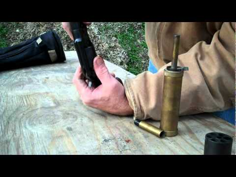 Shooting the 1858 Remington Revolver