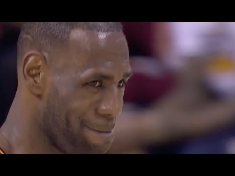 The Game LeBron Made Warriors Fans Cheer For Him!