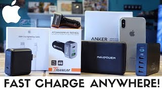 Best iPhone XS & iPhone XR Fast Charging Accessories!