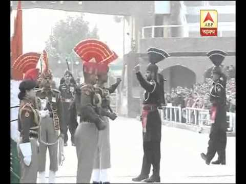 Republic Day Parade At Wagah Border. It's A Spectacular Show . video