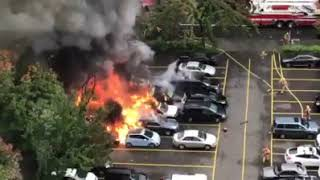 Fire Explosion Damages Two Food Carts in Portland