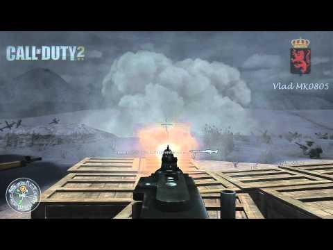 Call of Duty 2 HD Прохождение. Часть 9. Держать оборону