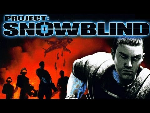 CGR Undertow - PROJECT: SNOWBLIND review for PlayStation 2