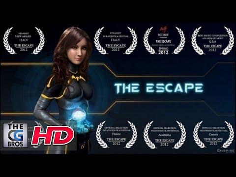 The Escape, un pequeño corto animado de ciencia ficción lleno de aventura