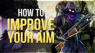 HOW TO WIN | Improve your AIM and ACCURACY (Fortnite Battle Royale)