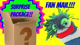 Fizzy Fan Friend Mail  - Surprise Packages!