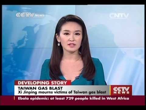 Xi Jinping mourns victims of Taiwan gas blast