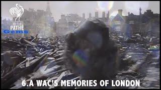 A WAC's Memories of London (1944) | British Pathé Gems Nº6