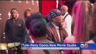 Eye On Entertainment: Tyler Perry Opens Film Studios In Atlanta