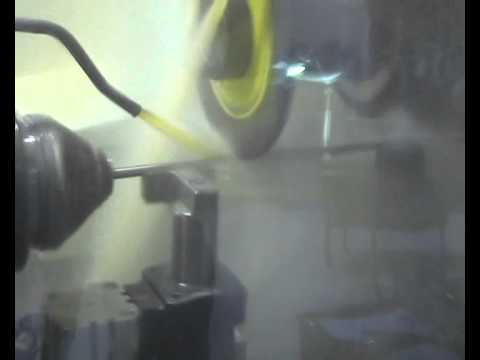 High Speed Fluting of a Medical Reamer on ANCA TX7