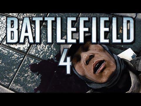 Battlefield 4 Funny Moments - Twerking Soldier, DICE Physics, Tron Bike, Commander Crate Squash!