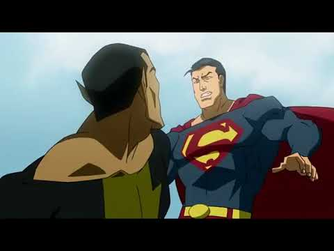 Супермен и Шазам против Черного Адама ч 2