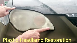 Plastic Headlamp Restoration Headlights Cover Blur Proton Gen 2 Persona Similar Saga | Cars