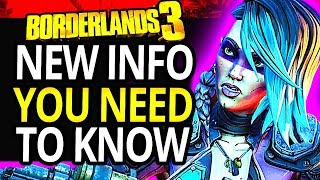 Borderlands 3 | 50+ Things You Need To Know From The Gameplay Reveal! - Biggest Questions Answered
