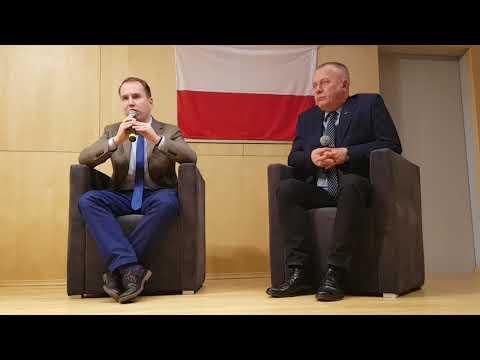 Posłowie Adam Andruszkiewicz I Jarosław Porwich W Zielonej Górze