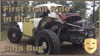 First Trail Ride for the Baja Bug