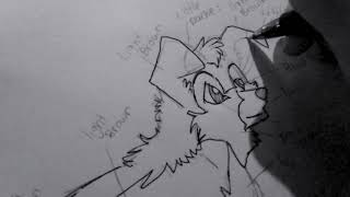 Drawing anime wolf pup. Listen to your heart and running with the wolves