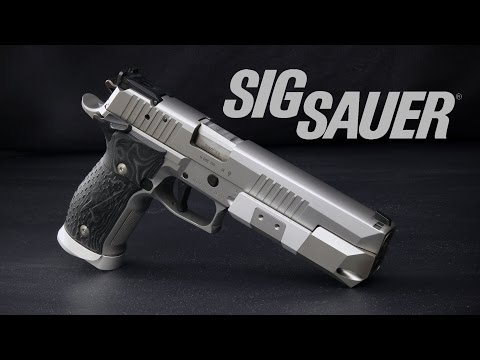 Review: Sig Sauer X6 X5 Supermatch - Not your dad's P226