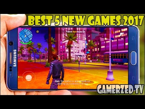 Top 5 Best New HD Games for Android/iOS in 2017 || Gamerzed Tv