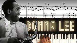 Donna Lee - Solo Piano Arrangement │Jazz Piano Lesson #39