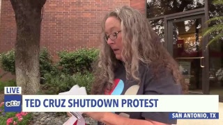 LIVE: Indivisible visits Ted Cruz to demand an end to the #TrumpShutdown