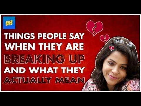 ScoopWhoop: Things People Say When They Break Up...