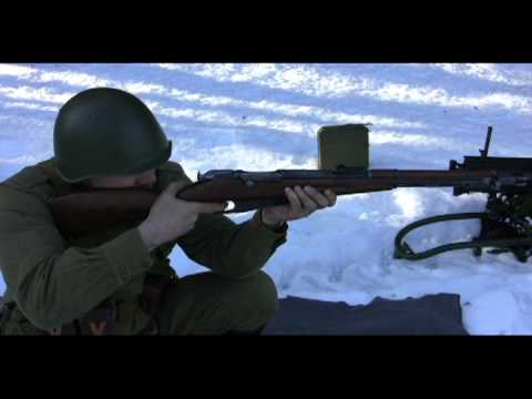 Historic Soviet Battle Rifles of WWII